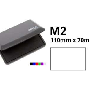 Ink pad for rubber stamps. 110mm x 70mm