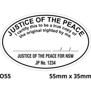 JP rubber stamp NSW