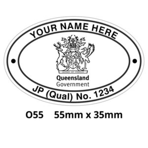 QLD Justice of the Peace Stamps