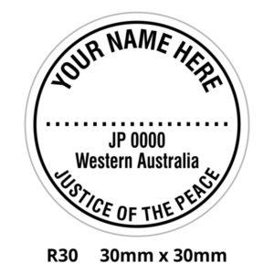 JP stamp WA