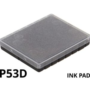 A replacement ink pad for a Colop P53D rubber stamp.