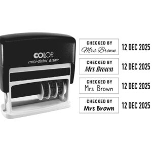 Personalised Date Stamps