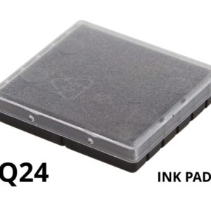 A replacement ink pad for a Colop Q24 rubber stamp.