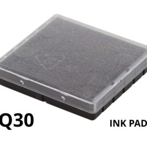 A replacement ink pad for a Colop Q30rubber stamp.