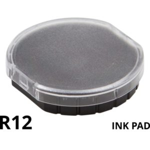 A replacement ink pad for a Colop R12 rubber stamp.