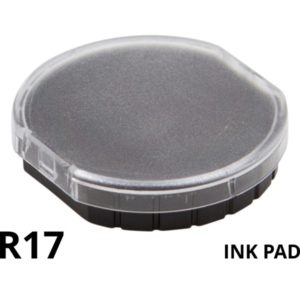 A replacement ink pad for a Colop R17 rubber stamp.