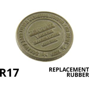 A replacement rubber for the colop r 17.