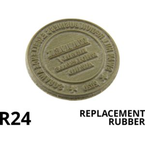 A round replacement rubber.