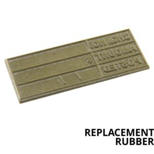 Replacement Rubbers For Self Inking Stamps